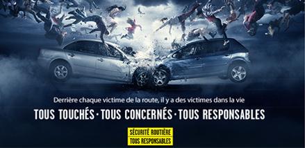 « Onde de choc », la nouvelle campagne de la Sécurité Routière