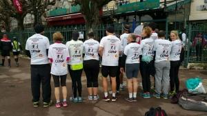 CER Réseau au Semi-Marathon de Paris